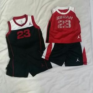 Set of 2 micheal Jordan outfits (#203)